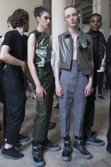 Rick Owens Spring 2018 Men's Fashion Show Backstage