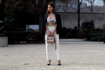 The Best Street Style From Paris Couture Fashion Week Street Style Day 1 Spring 2017