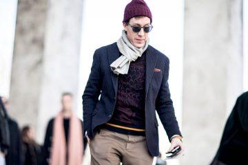 Paris Men's Fashion Week Street Style Day 5 Fall 2017