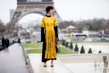 Paris Fashion Week Fall 2017 Street Style Day 7