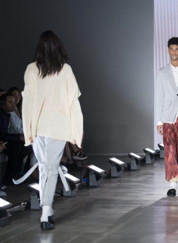 Poan Spring 2018 Men's Fashion Show Atmosphere