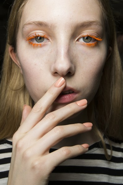 Emilio Pucci Fall 2017 Backstage Beauty