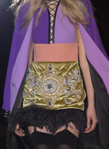 Fausto Puglisi Fall 2017 Fashion Show Details