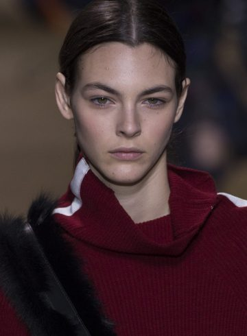 Sacai Fall 2017 Fashion Show Beauty