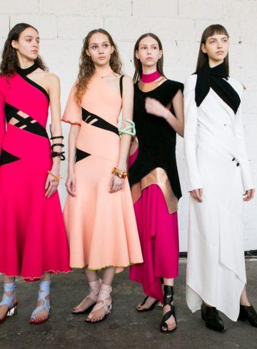 Proenza Schouler Fall 2017 Fashion Show Backstage