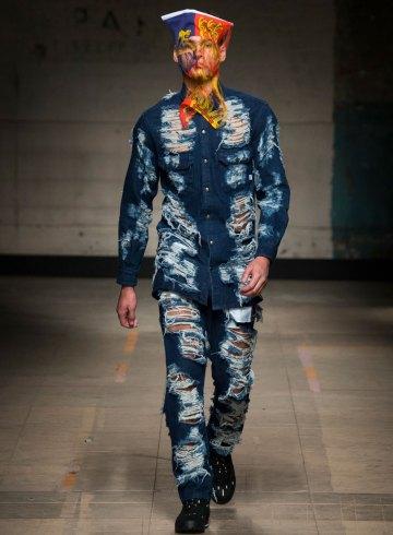 Christopher Shannon Fall 2017 Menswear Fashion Show