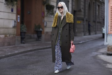 Stockholm Fashion Week Street Style Day 2 Fall 2017