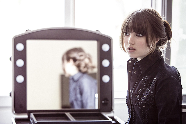 Grace Hartzel in the Tod's campaign.