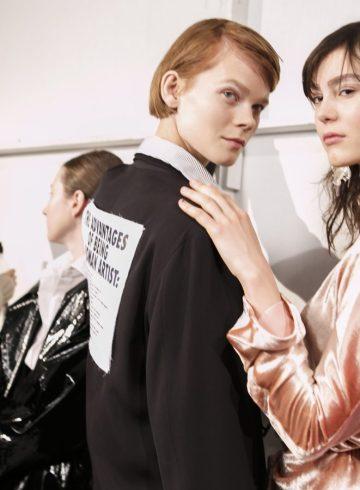 Tome Fall 2017 Fashion Show Backstage