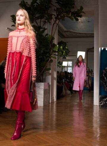 Valentino Fall 2017 Fashion Show Atmosphere