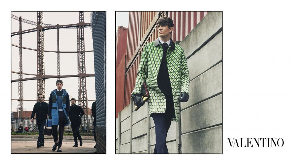 Valentino Men's Fall 2015 Ad Campaign photo