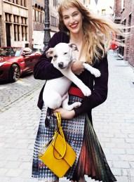 Vanessa Axente, Vogue USA   October 2014