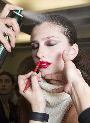 Vanessa Seward Fall 2017 Fashion Show Backstage