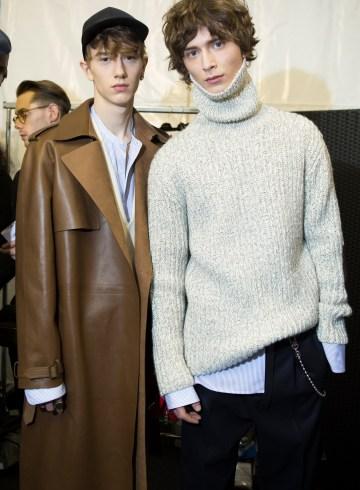 Louis Vuitton Fall 2017 Menswear Fashion Show Backstage