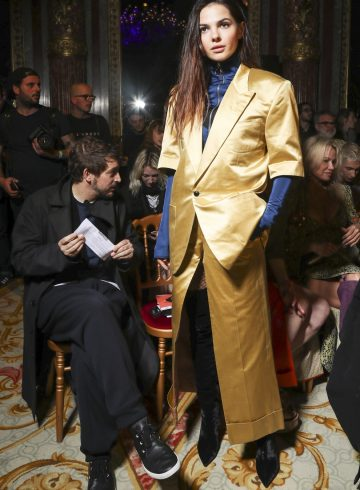 Vivienne Westwood Fall 2017 Fashion Show Front Row