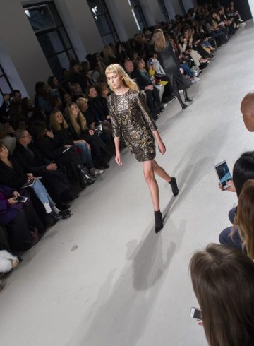 Valentin Yudashkin Fall 2017 Fashion Show Atmosphere