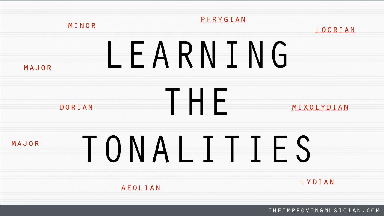 LEARNING THE TONALITIES