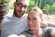 Sam and Melanie, Ubud, Bali
