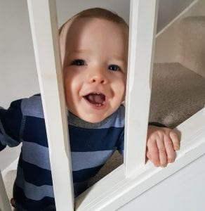 #cheekyboy #cheekybaby #stairs