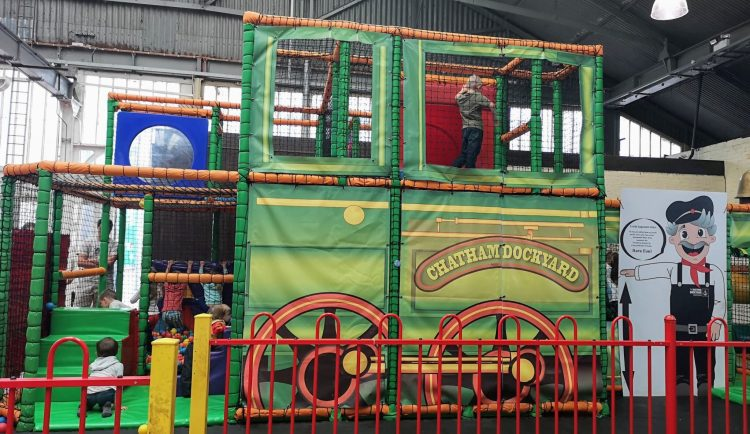 chatham dockyard, historic dockyards chatham, soft play, railway workshop, things to do in Kent