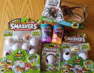 Zuru Toys, Smashers Series 2 Gross, Robo Alive, Oosh Slime, Oosh Fun Foam