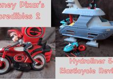 disney pixar, incredibles 2, elasticycle, hydroliner