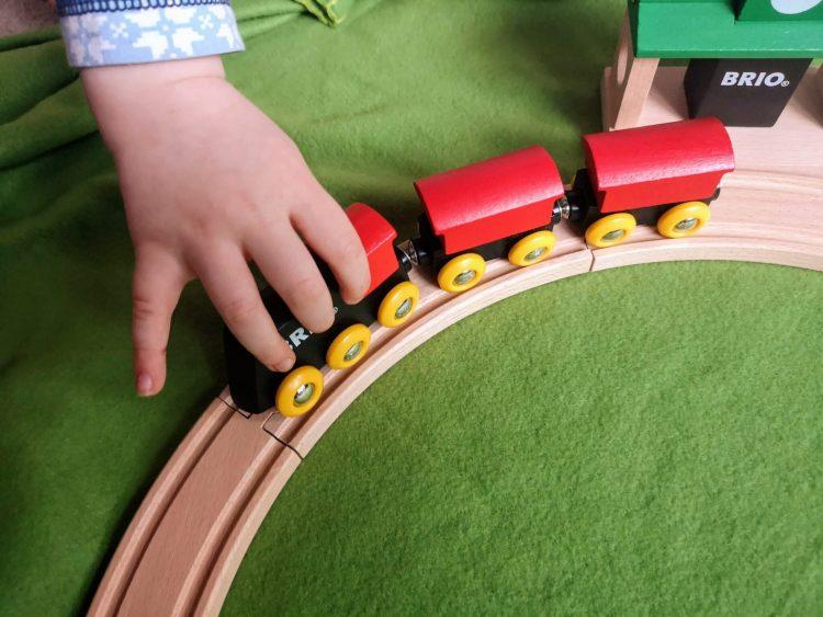 brio, train set, classic train set, wooden train set,