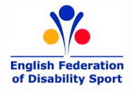 Logo of English Federation of Disability Sport