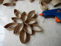 DIY Toilet Paper Roll Wall Flower  The EGG