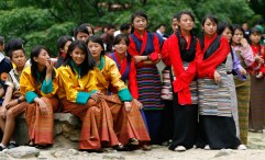 Bhutanese girls