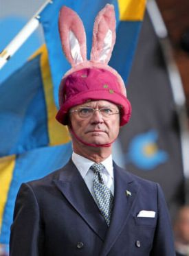 King Carl Gustav of Sweden