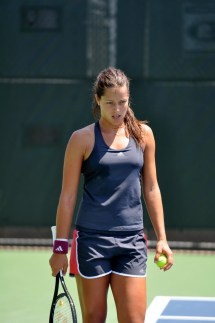 Ana Ivanovic looking tired
