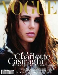 Charlotte Casiraghi for Vogue