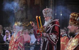 Patriarch Kirill Red