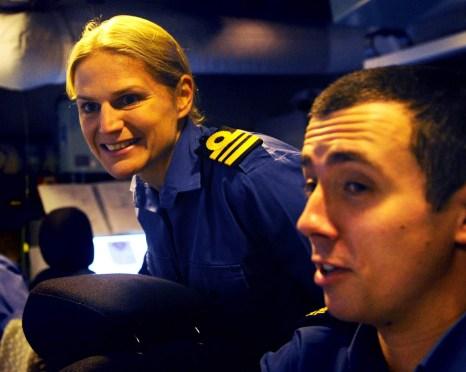 Sarah West, commanding officer