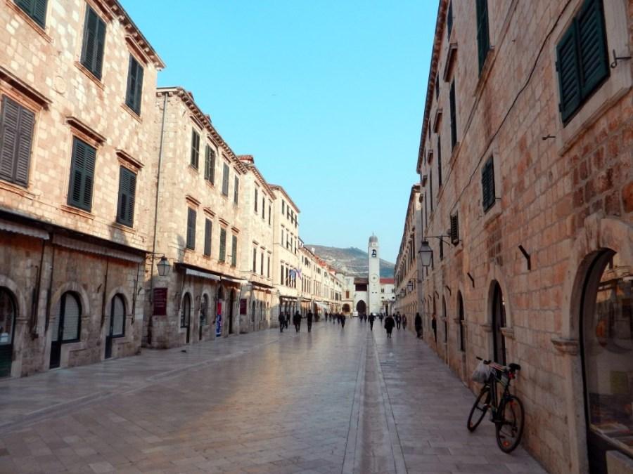 Stradun Main Street, Dubrovnik, Croatia