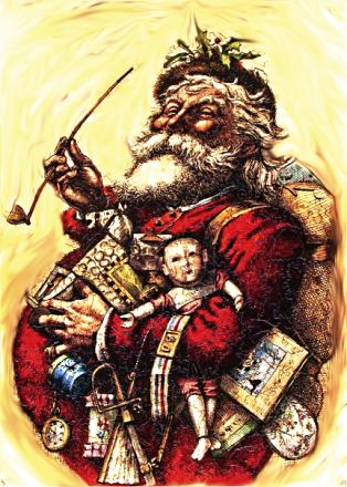 Santa Claus 19th Century Thomas Nast