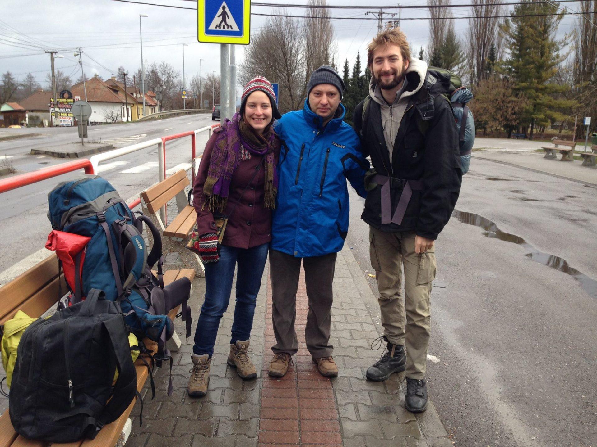 Ashleigh, Lubomir, and Nathanael in Slovakia
