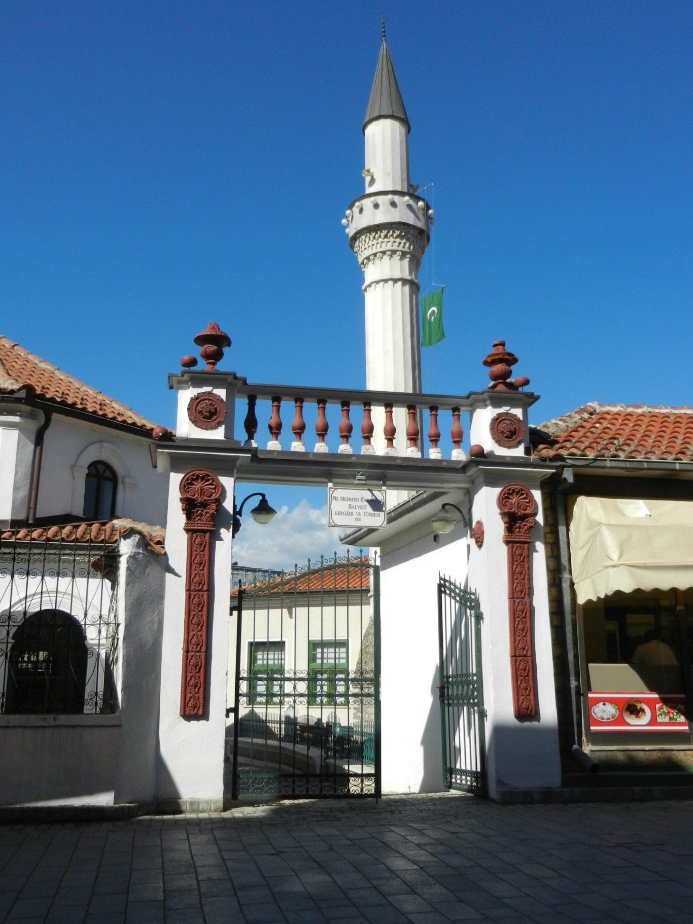 Mosque Hadzhi Torgut in Ohrid,Macedonia