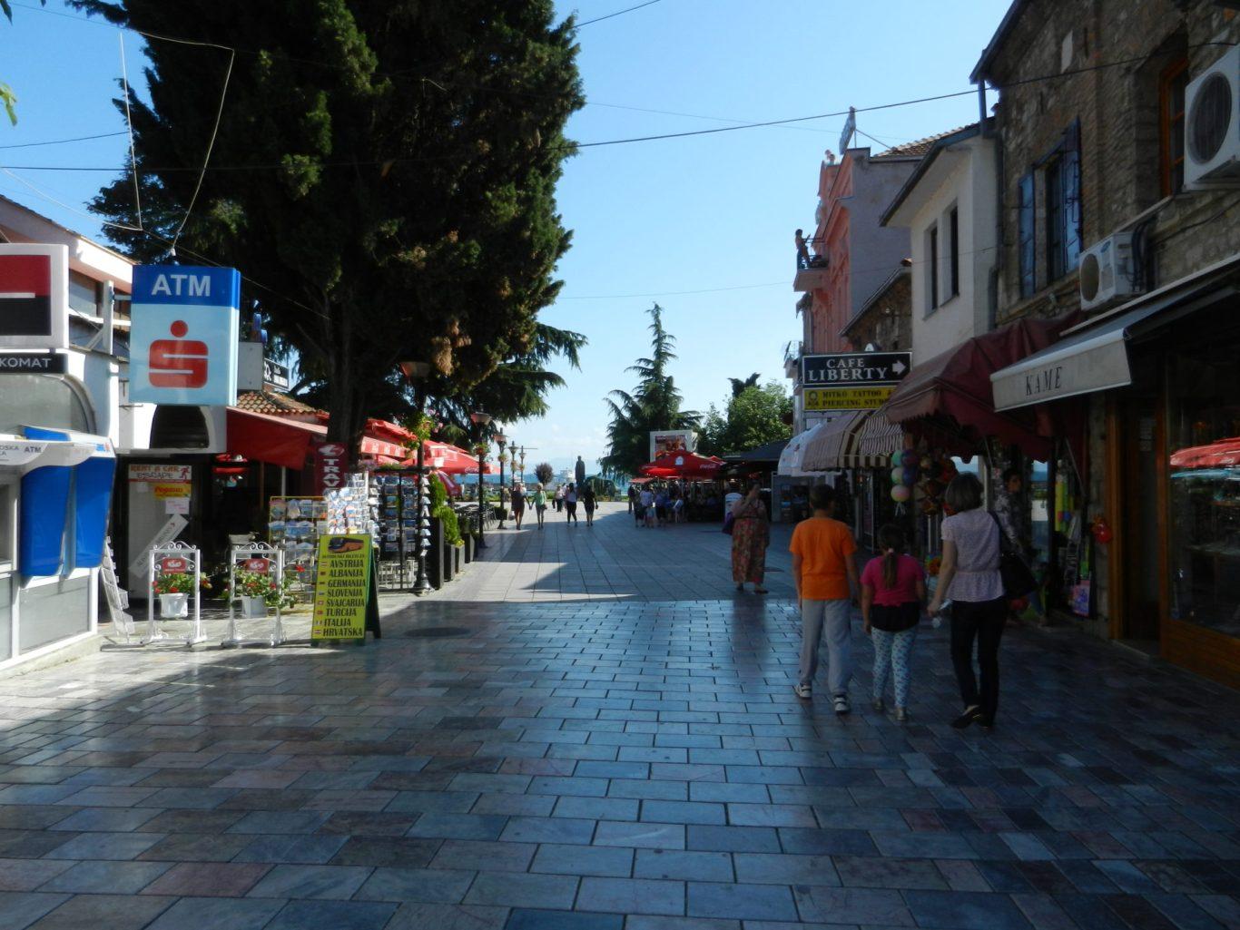 Streets of Ohrid, Macedonia