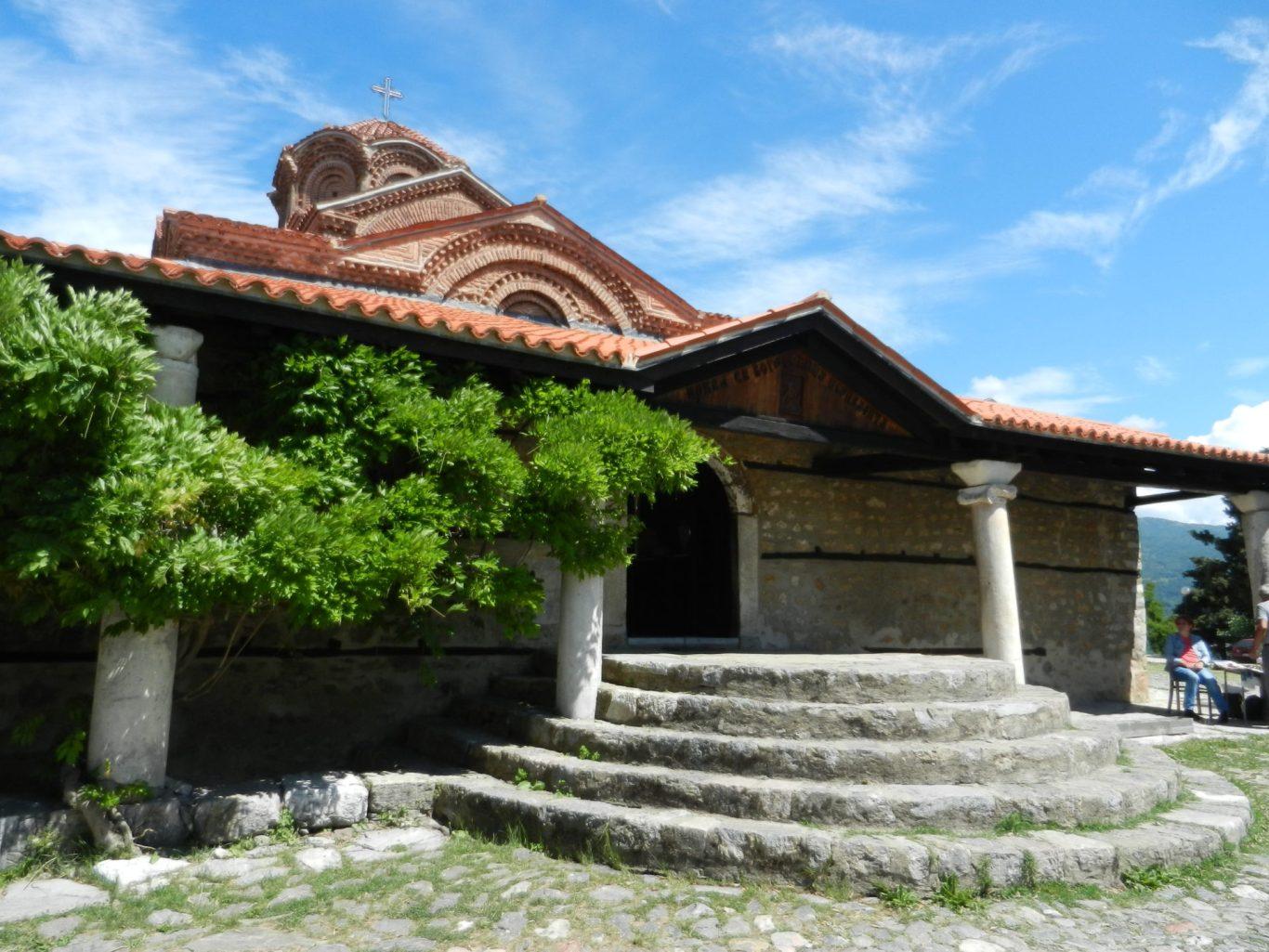 Holy Mother of God Peribleptos Church, Ohrid, Macedonia