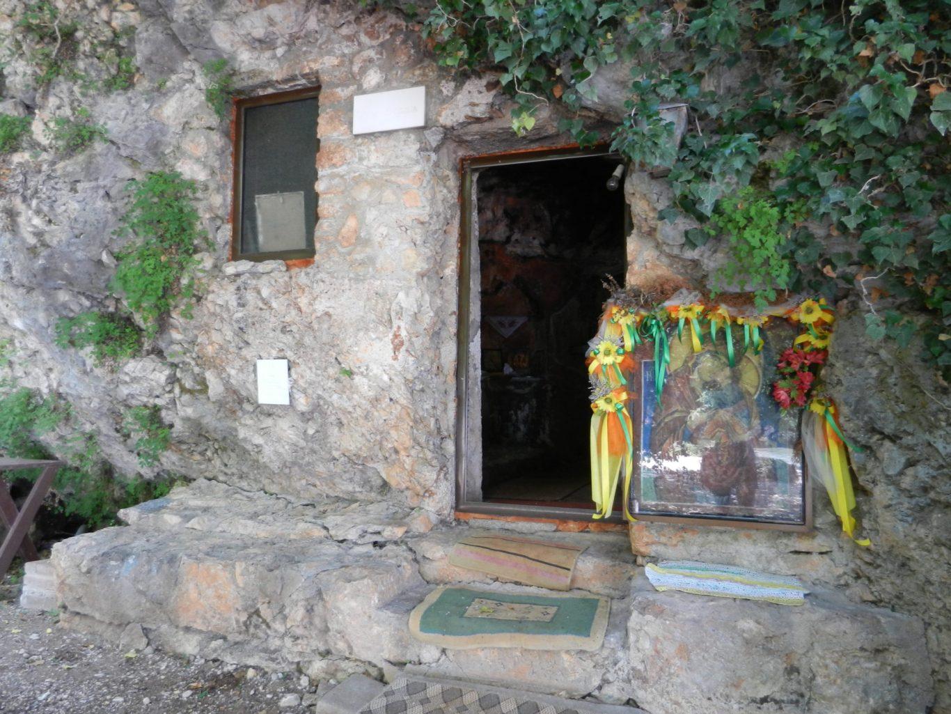 Old chapel in Ohrid, Macedonia