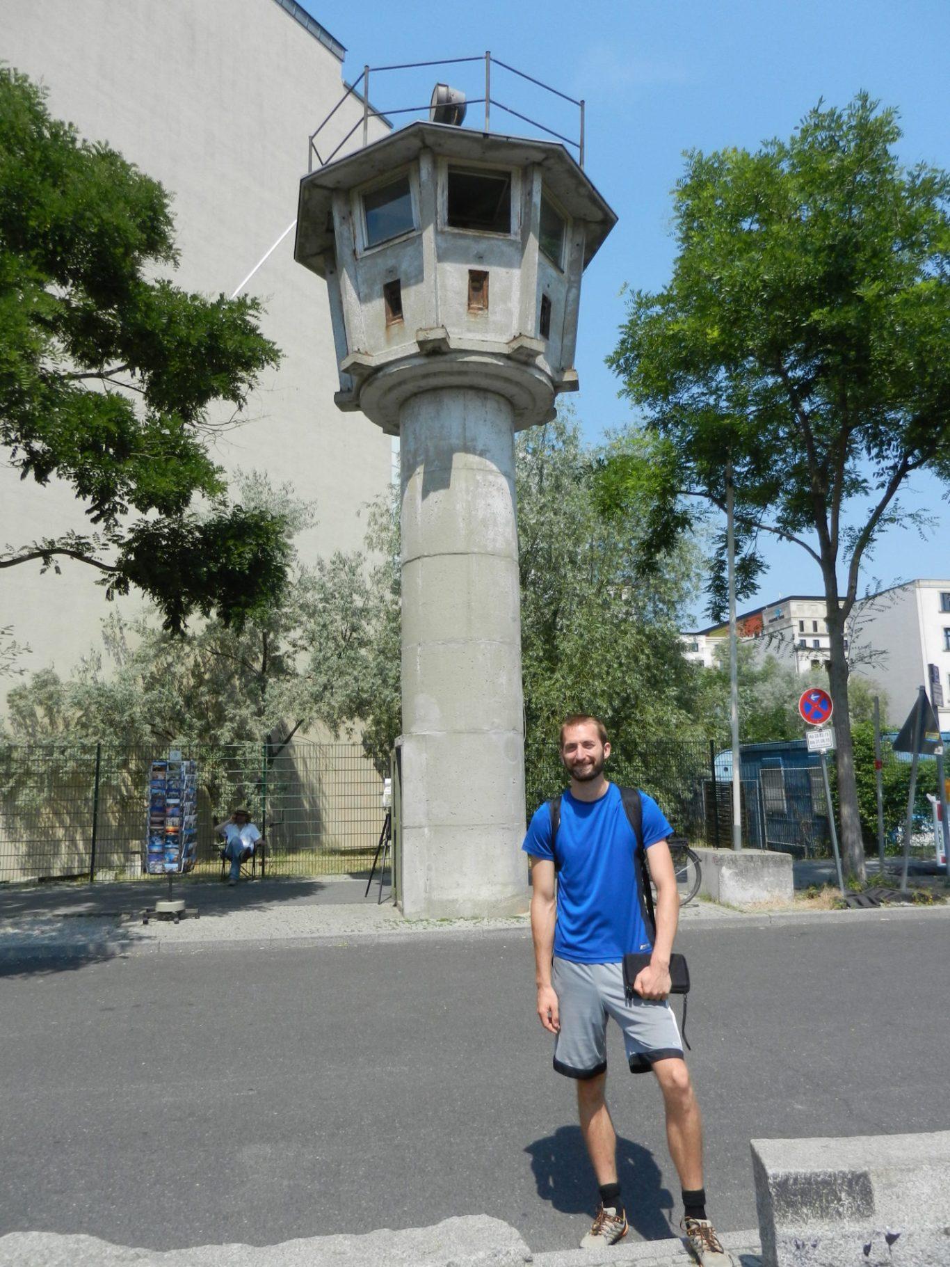 Potsdamer Platz BT 6 Watchtower in Berlin, Germany