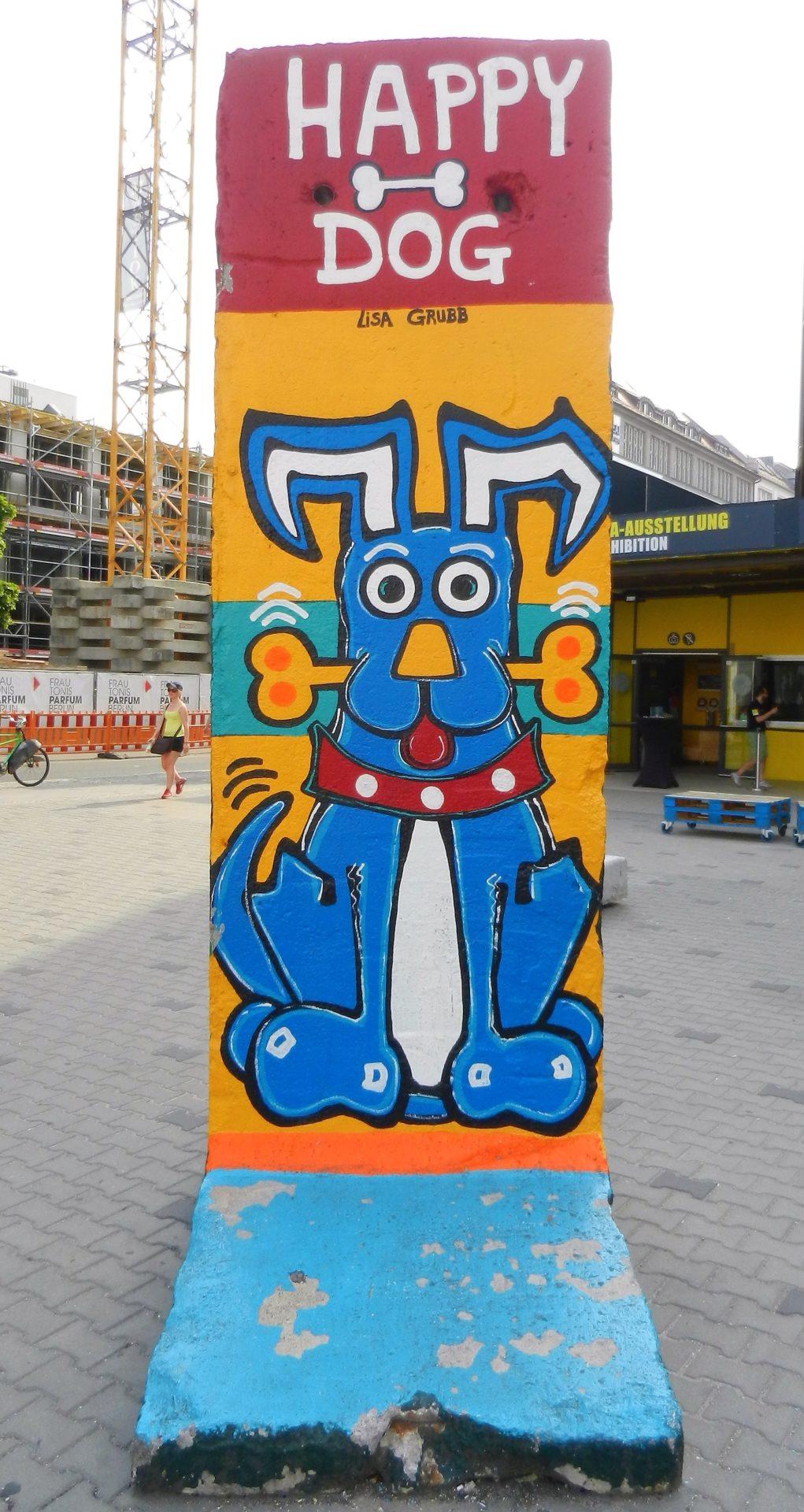 Berlin wall segment in Berlin, Germany