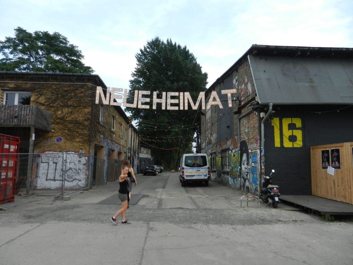 Neue Heimat Food Market, Berlin, Germany