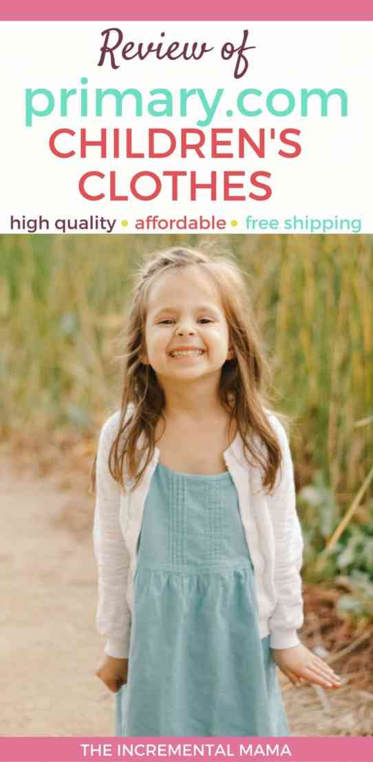 Review of primary.com kid's clothes