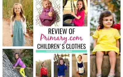 Primary Clothing Review (with video)