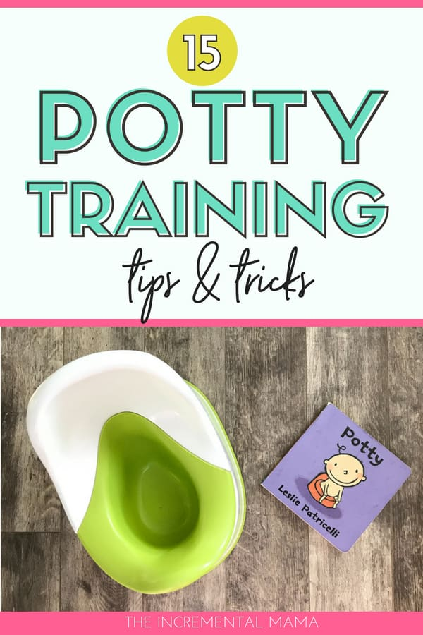 15 Potty Training Tips & Tricks #parenting #pottytraining #toddlers