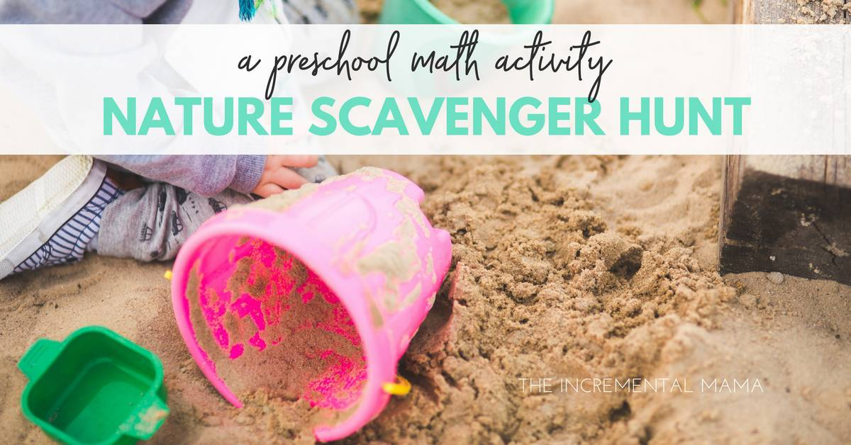 Nature Scavenger Hunt: A Simple and Fun Preschool Math Activity