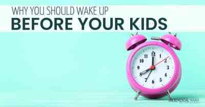 Wake Up Before Your Kids & Change Your Life #momhacks #momroutine